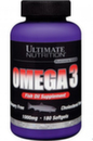 Omega 3 (Ultimate) 1000 мг. 180 гел капс